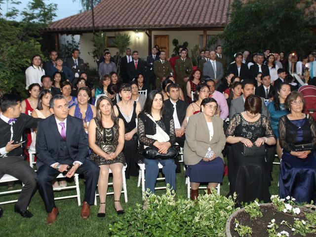 El matrimonio de María Paz y Cristian en Graneros, Cachapoal 54