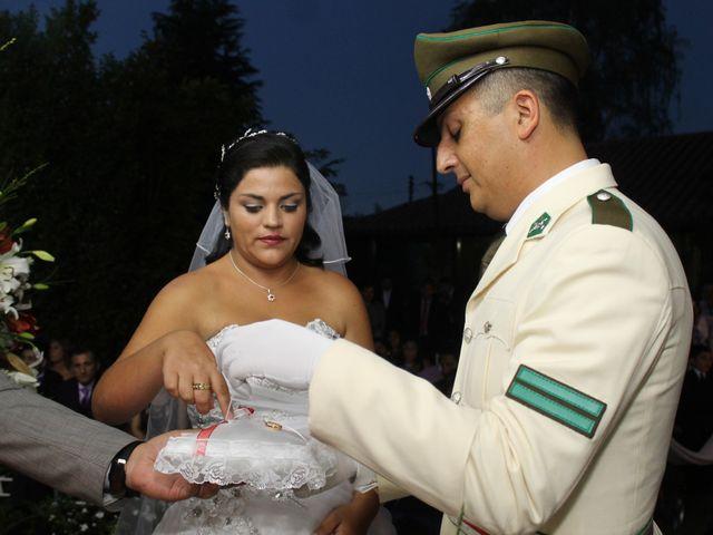 El matrimonio de María Paz y Cristian en Graneros, Cachapoal 62