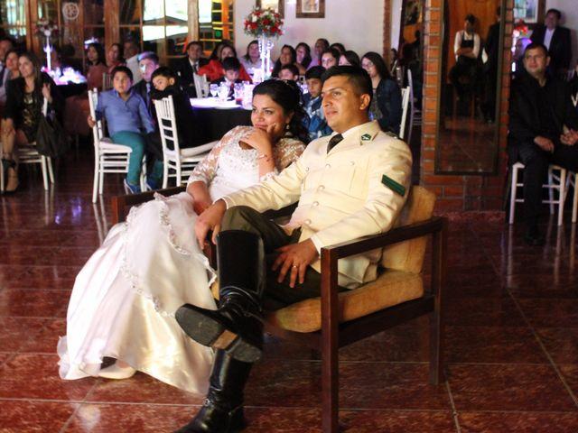 El matrimonio de María Paz y Cristian en Graneros, Cachapoal 124