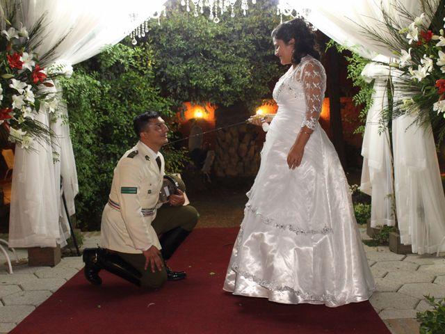 El matrimonio de María Paz y Cristian en Graneros, Cachapoal 152
