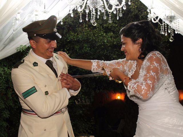 El matrimonio de María Paz y Cristian en Graneros, Cachapoal 155