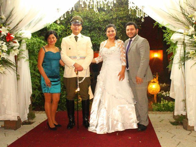 El matrimonio de María Paz y Cristian en Graneros, Cachapoal 158