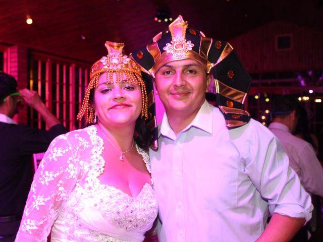 El matrimonio de María Paz y Cristian en Graneros, Cachapoal 173