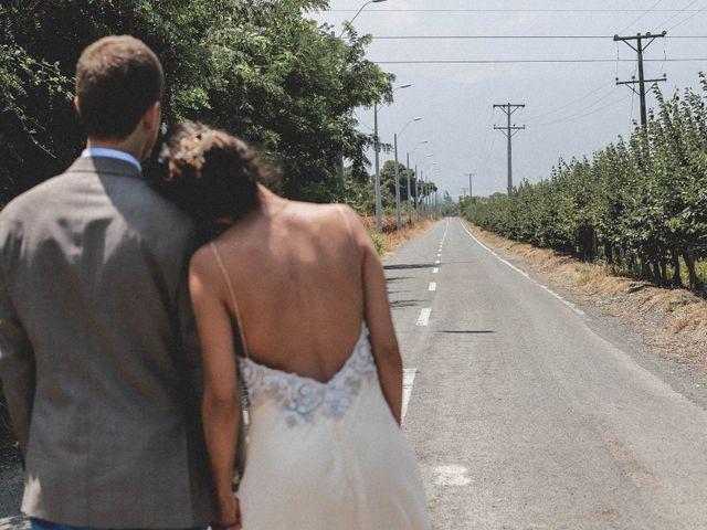 El matrimonio de Trinidad y Sebastián
