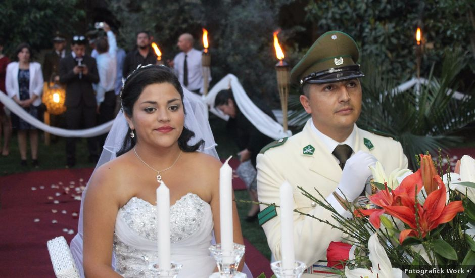 El matrimonio de María Paz y Cristian en Graneros, Cachapoal