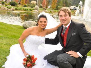El matrimonio de Andrés y Patricia