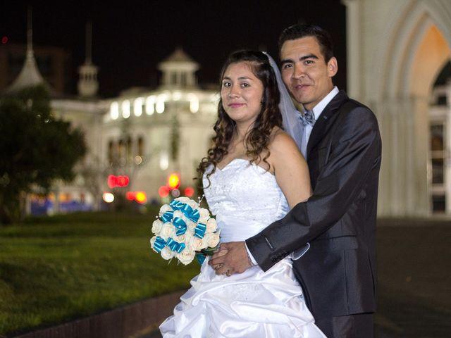 El matrimonio de Melanie y German