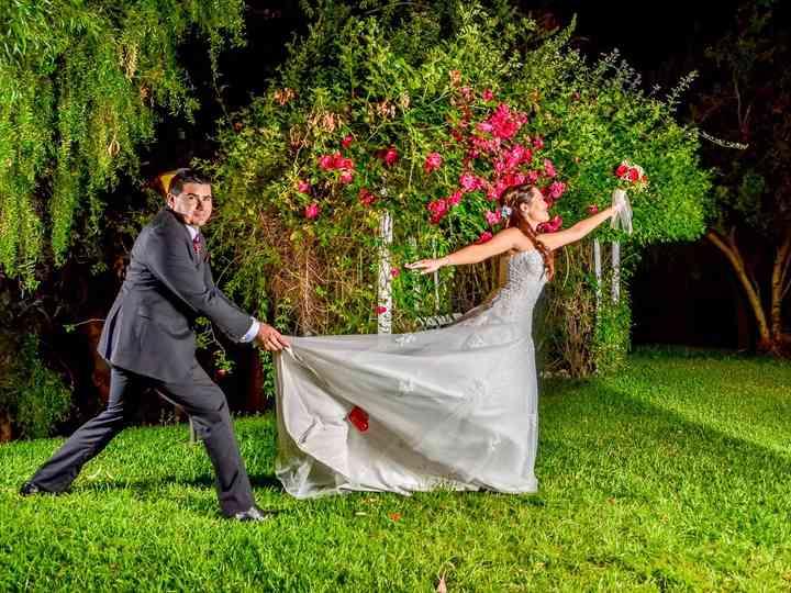 El matrimonio de Estar y René