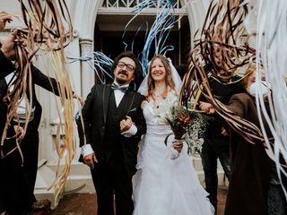 El matrimonio de Julia y Luis