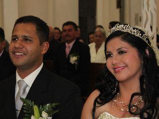 El matrimonio de Julia y Carlos