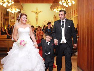 El matrimonio de Andrea y Luis