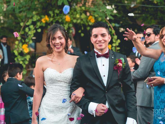 El matrimonio de Indira y Felipe