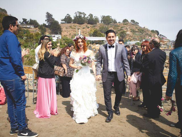 El matrimonio de Daniel y Cote en Puchuncaví, Valparaíso 38