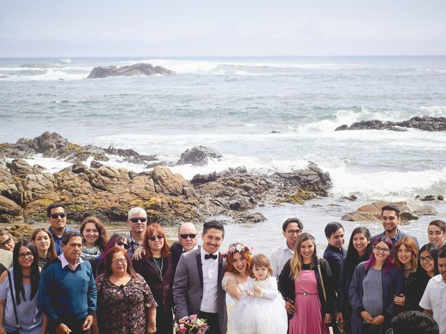 El matrimonio de Daniel y Cote en Puchuncaví, Valparaíso 40