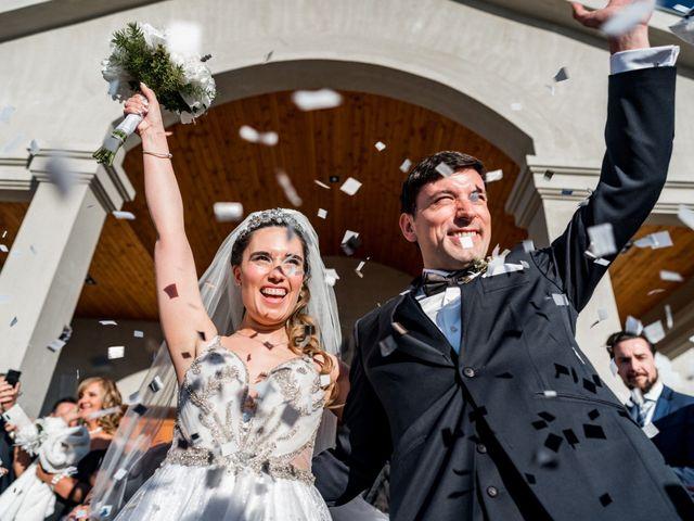 El matrimonio de Cathy y Mauro