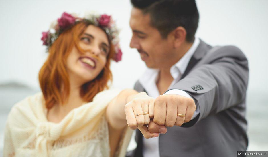 El matrimonio de Daniel y Cote en Puchuncaví, Valparaíso