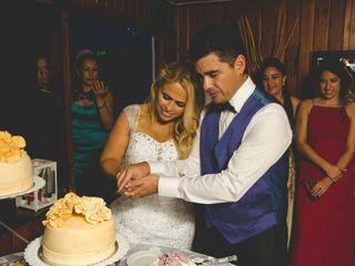 El matrimonio de María Teresa y Roberto Carlos