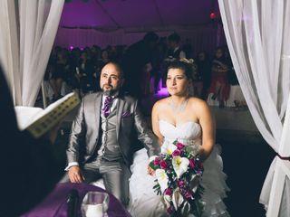 El matrimonio de Johana y Eddie