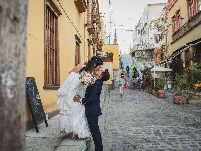 El matrimonio de Jerson y Camila en Valparaíso, Valparaíso 48
