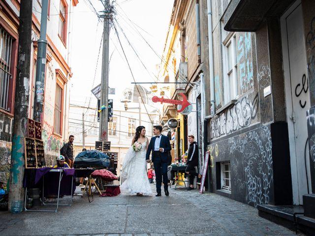 El matrimonio de Jerson y Camila en Valparaíso, Valparaíso 49