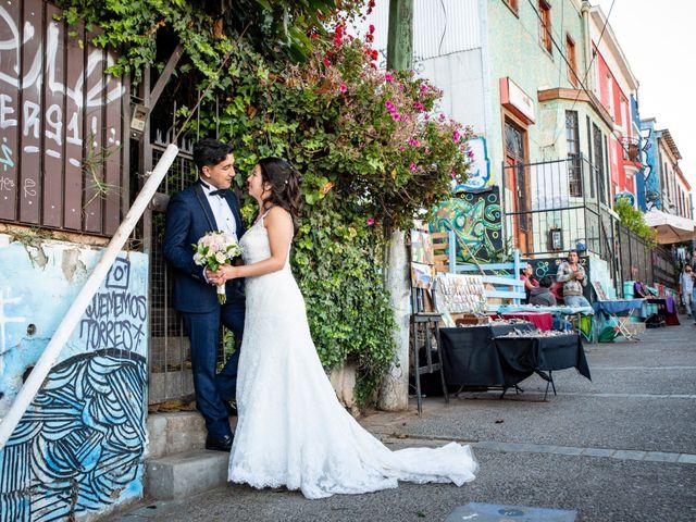 El matrimonio de Jerson y Camila en Valparaíso, Valparaíso 50