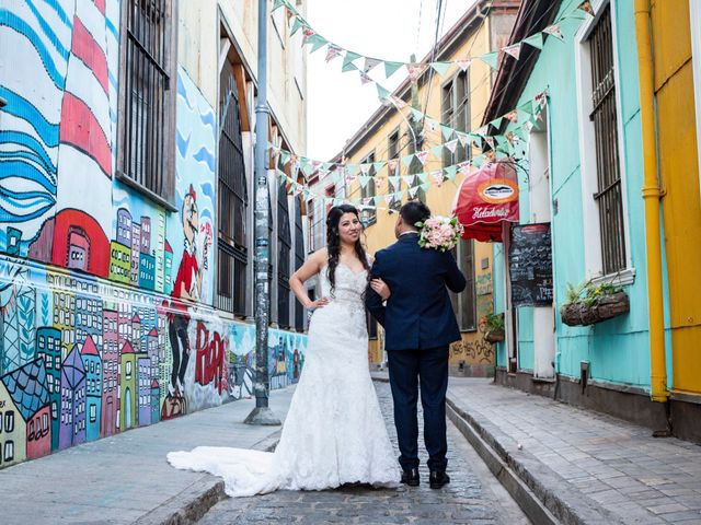 El matrimonio de Jerson y Camila en Valparaíso, Valparaíso 53