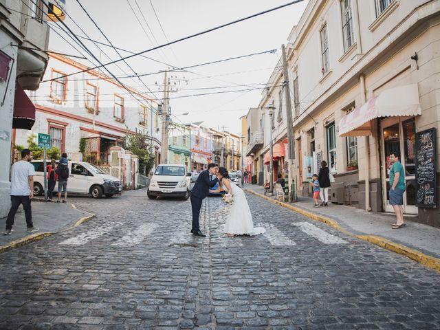 El matrimonio de Jerson y Camila en Valparaíso, Valparaíso 62