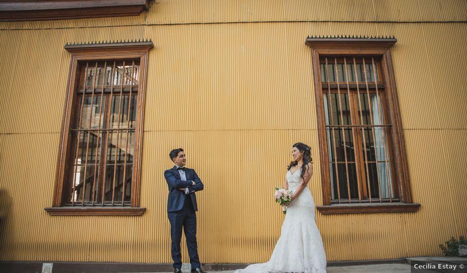 El matrimonio de Jerson y Camila en Valparaíso, Valparaíso
