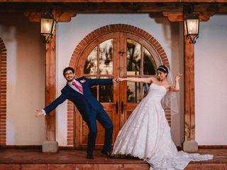 El matrimonio de Priscy y André