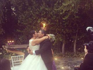 El matrimonio de Coté y Adolfo