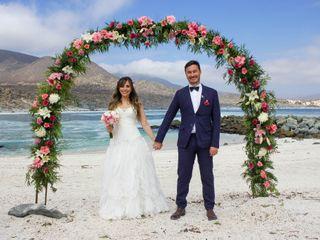 El matrimonio de Barbara y Johan