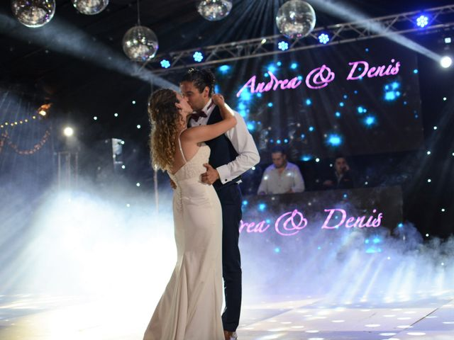 El matrimonio de Andrea y Denis