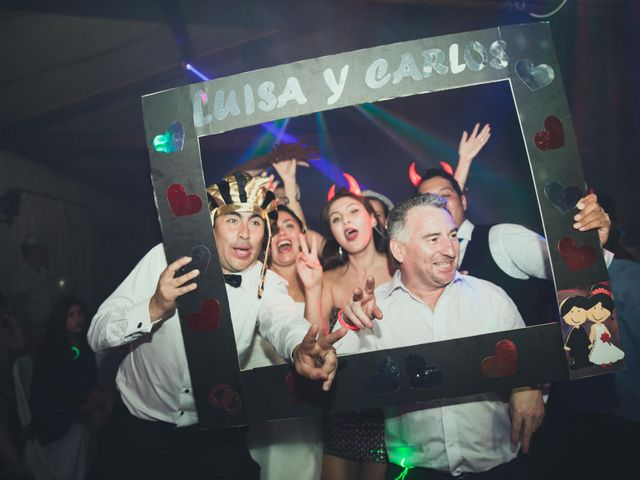 El matrimonio de Carlos y Luisa en Santiago, Santiago 36
