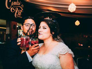 El matrimonio de Alexandra y Gustavo