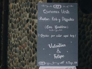 El matrimonio de Valentina y Felipe  1