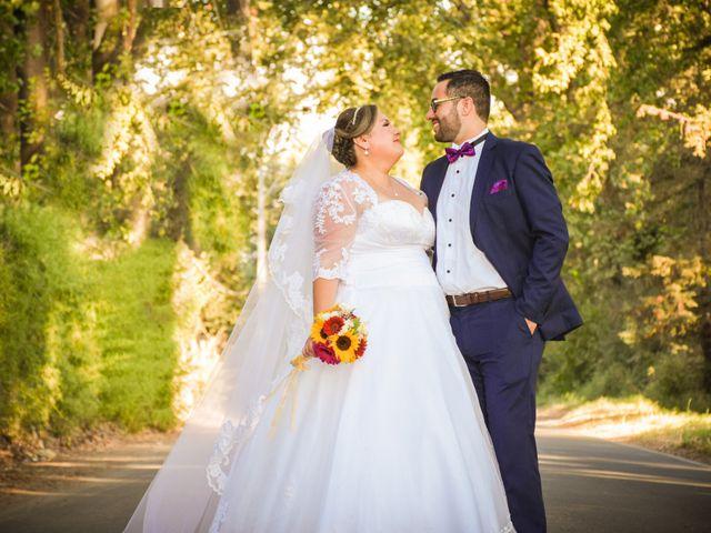 El matrimonio de Lorena y Sammy