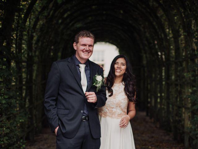 El matrimonio de Izu y Wouter
