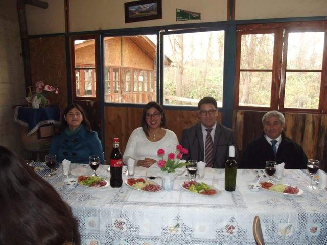El matrimonio de Miguel  y Andrea en Santa María, San Felipe de Aconcagua 1