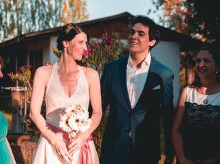 El matrimonio de Corinne y Rafa