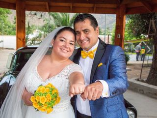 El matrimonio de Nicsel y Marcelo