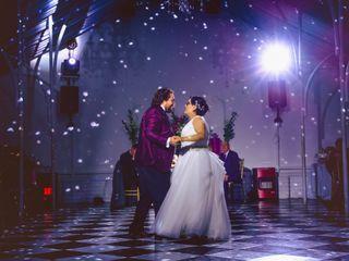 El matrimonio de Bárbara y Juan