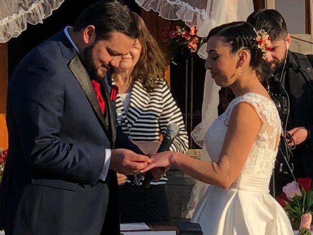 El matrimonio de Amador  y Karina