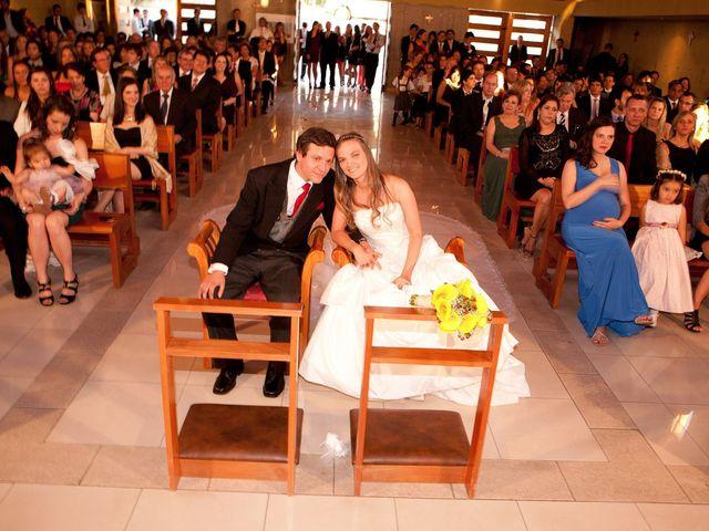 El matrimonio de Andrea y Cristóbal