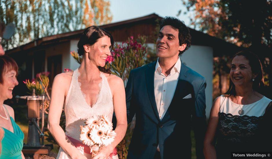 El matrimonio de Rafa y Corinne en Santa Cruz, Colchagua