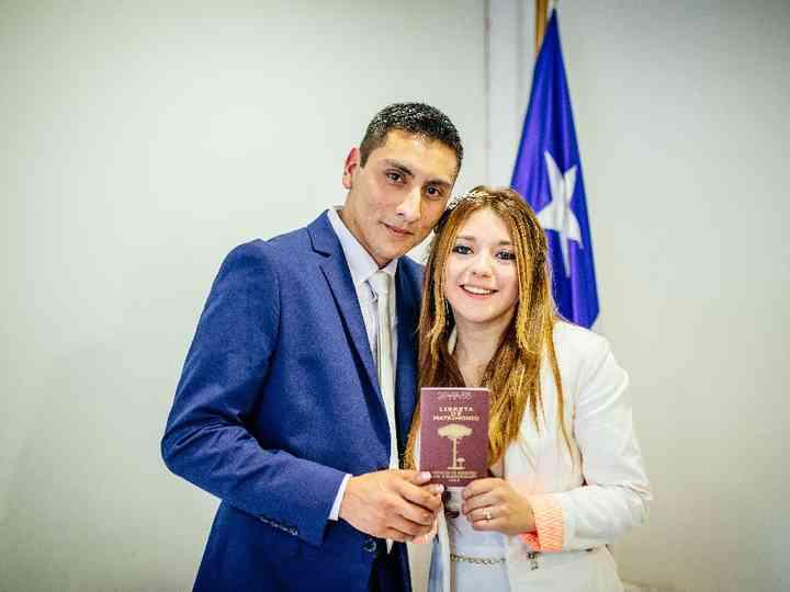 El matrimonio de Esteban y Natalia