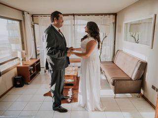 El matrimonio de Daniela y Alfredo