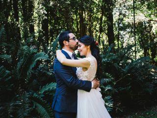 El matrimonio de Valentina y David
