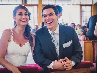 El matrimonio de Natalia y Ivo