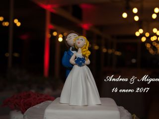 El matrimonio de Andrea y Miguel 1