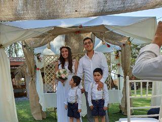 El matrimonio de Marcela  y Oscar 1